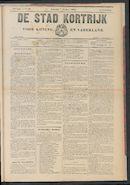 De Stad Kortrijk 1905-10-07 p1