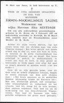 Salens Firmin-Maximilianus