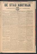 De Stad Kortrijk 1902-02-25 p1