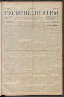L'echo De Courtrai 1910-06-09 p1
