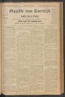 Gazette Van Kortrijk 1897-07-08