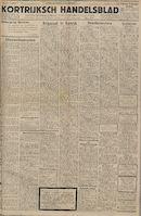 Kortrijksch Handelsblad 4 augustus 1945 Nr62