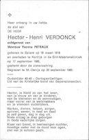 Hector Henri Verdonck