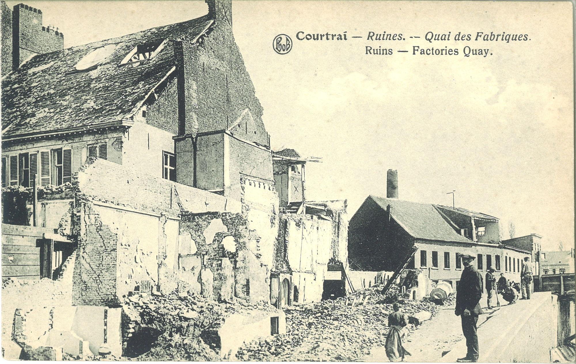Fabriekskaai in 1919