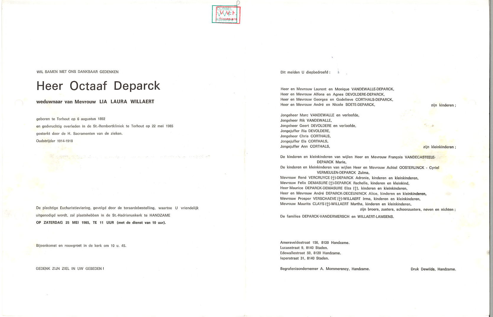 Octaaf Deparck