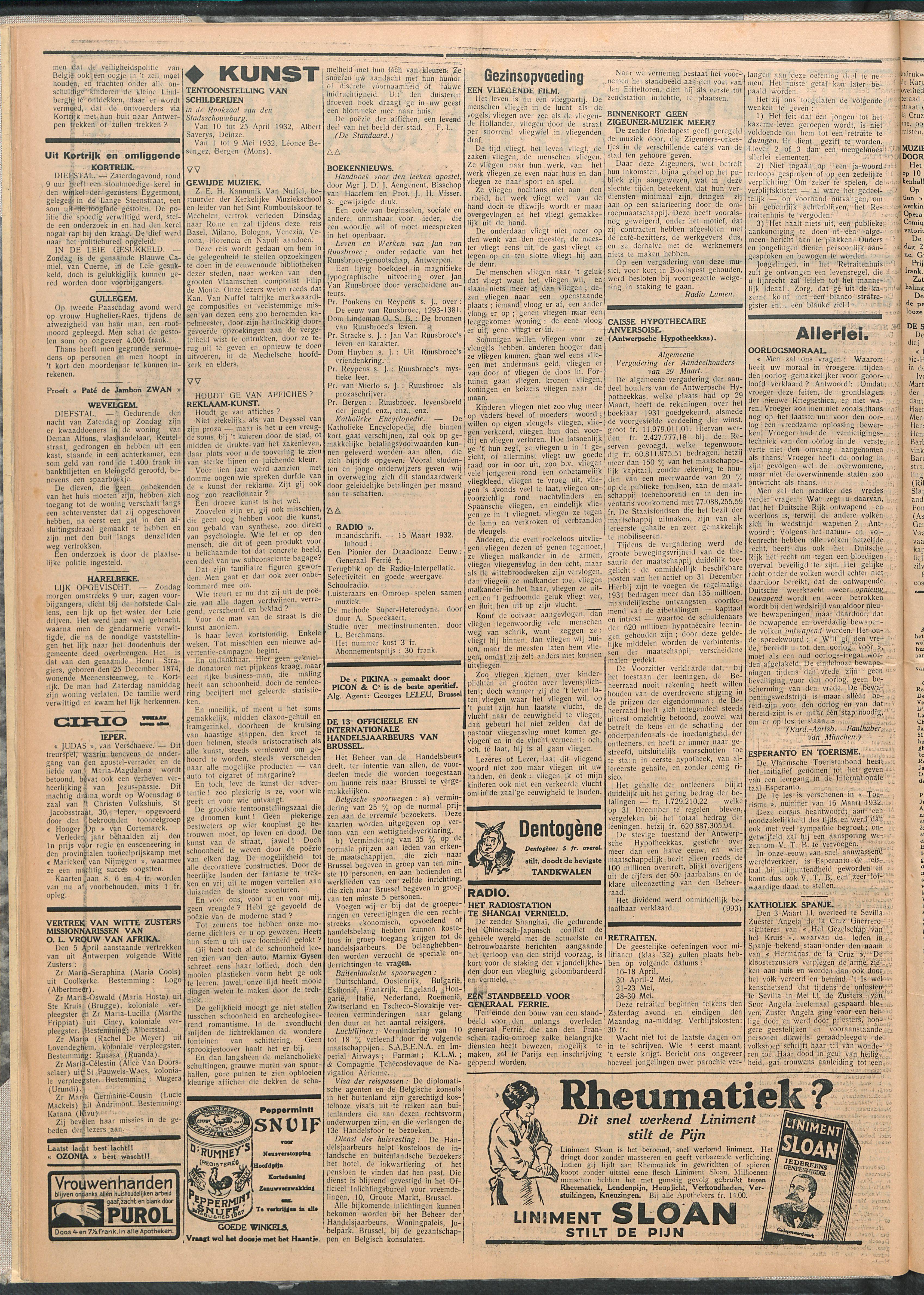 Het Kortrijksche Volk 1932-04-03 p2