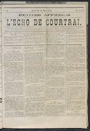 L'echo De Courtrai 1873-03-23