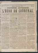 L'echo De Courtrai 1873-09-28 p1