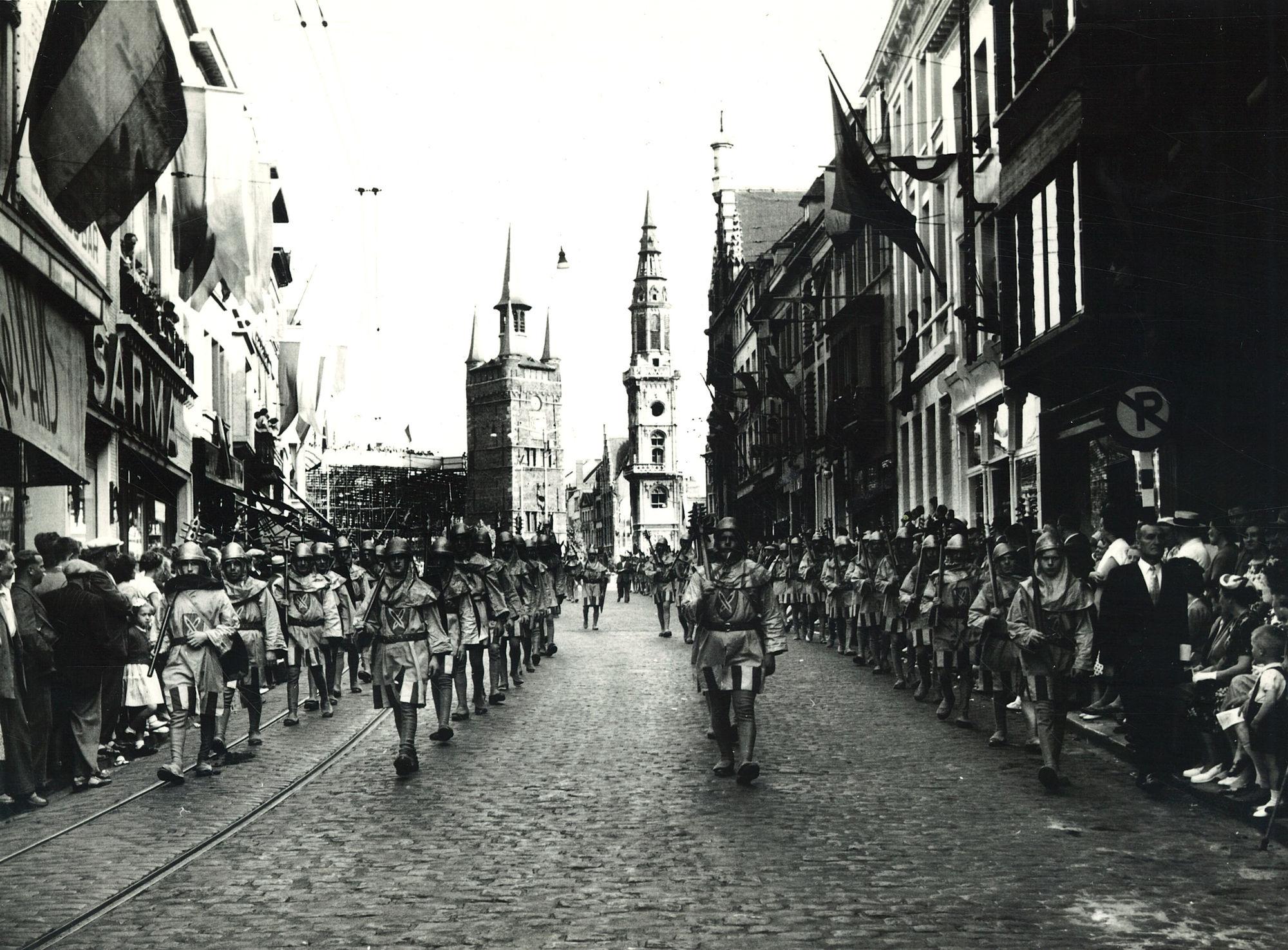 Guldensporenstoet 1952
