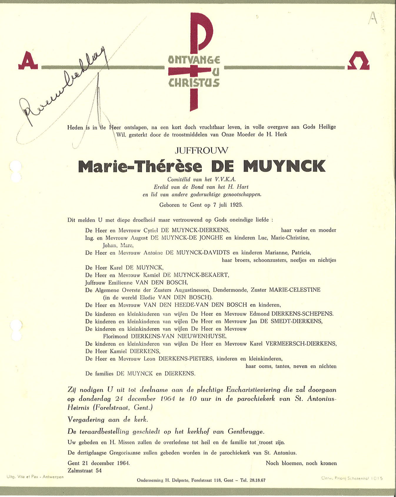 Marie-Thérèse De Muynck