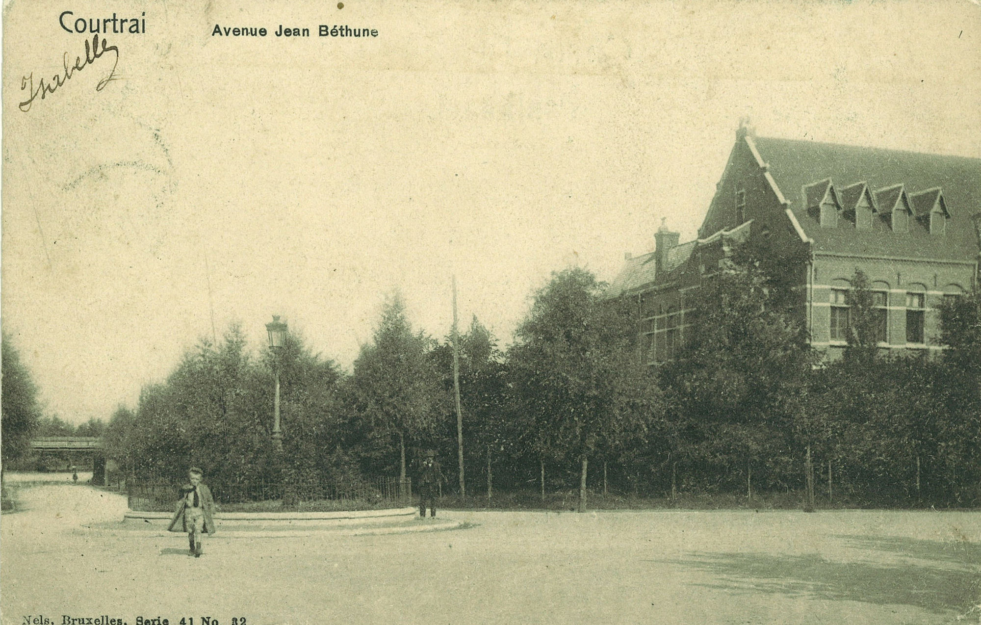 Baron J. de Bethunestraat: Avenue Jean Bethune