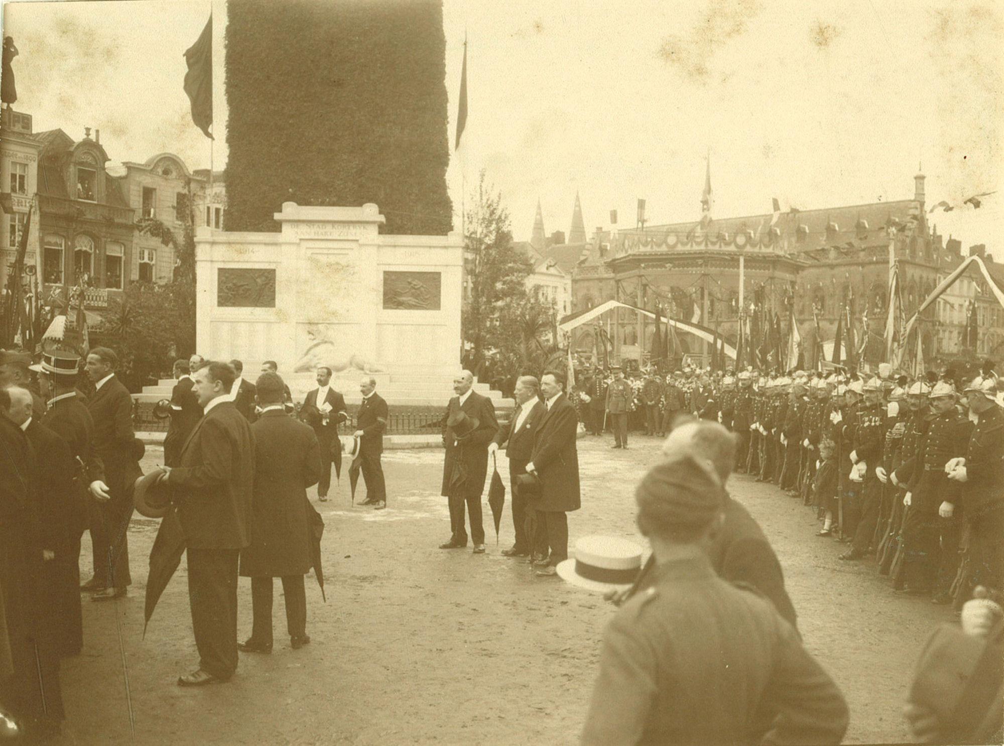 Inwijding van het oorlogsmonument 1914-1918, 15 juli 1924