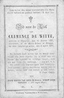 Clemence De Witte