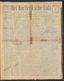 Het Kortrijksche Volk 1924-01-06 p1