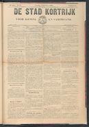 De Stad Kortrijk 1904-09-03 p1