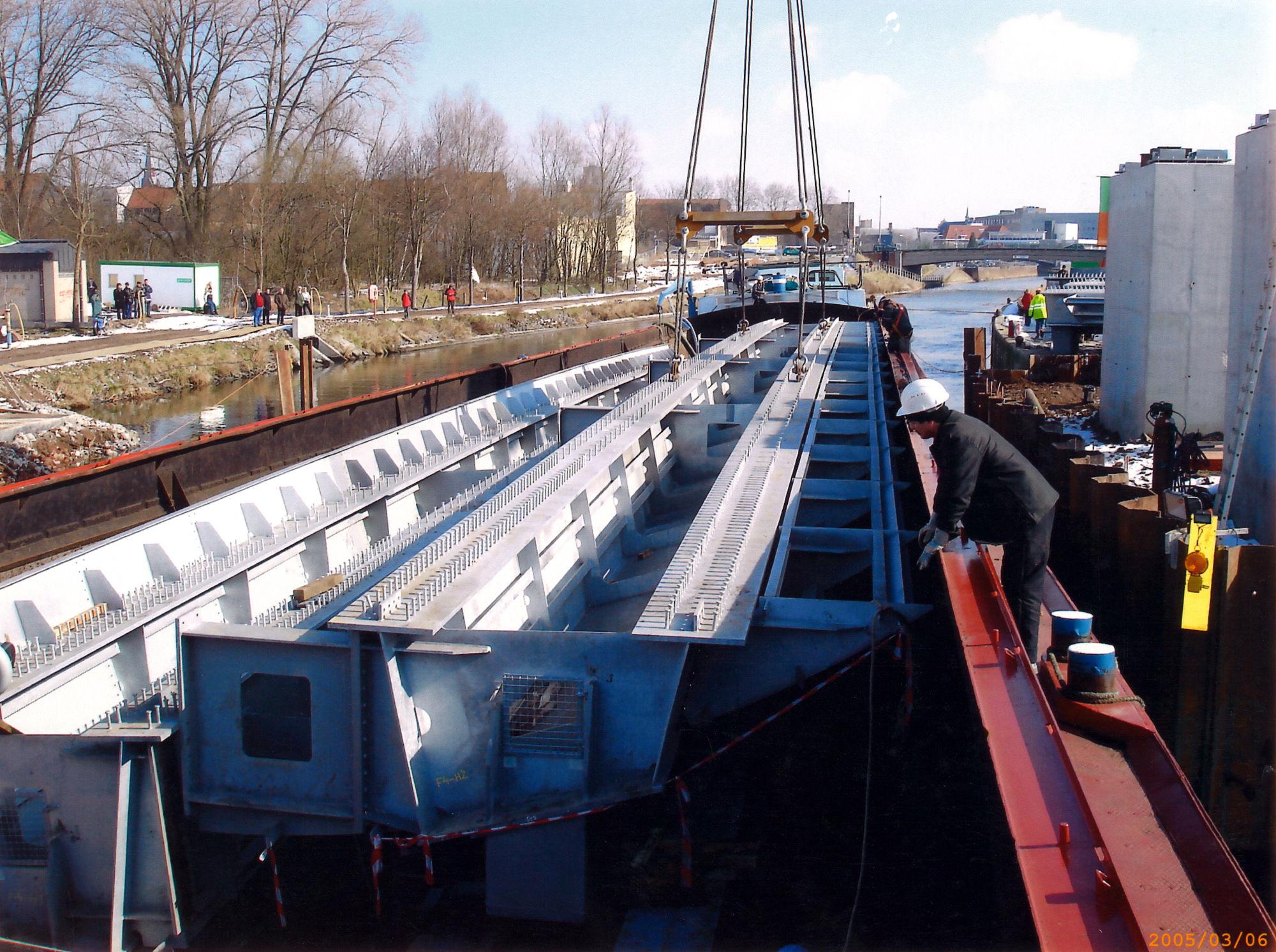 Bouw Westelijke Ringbrug 2005