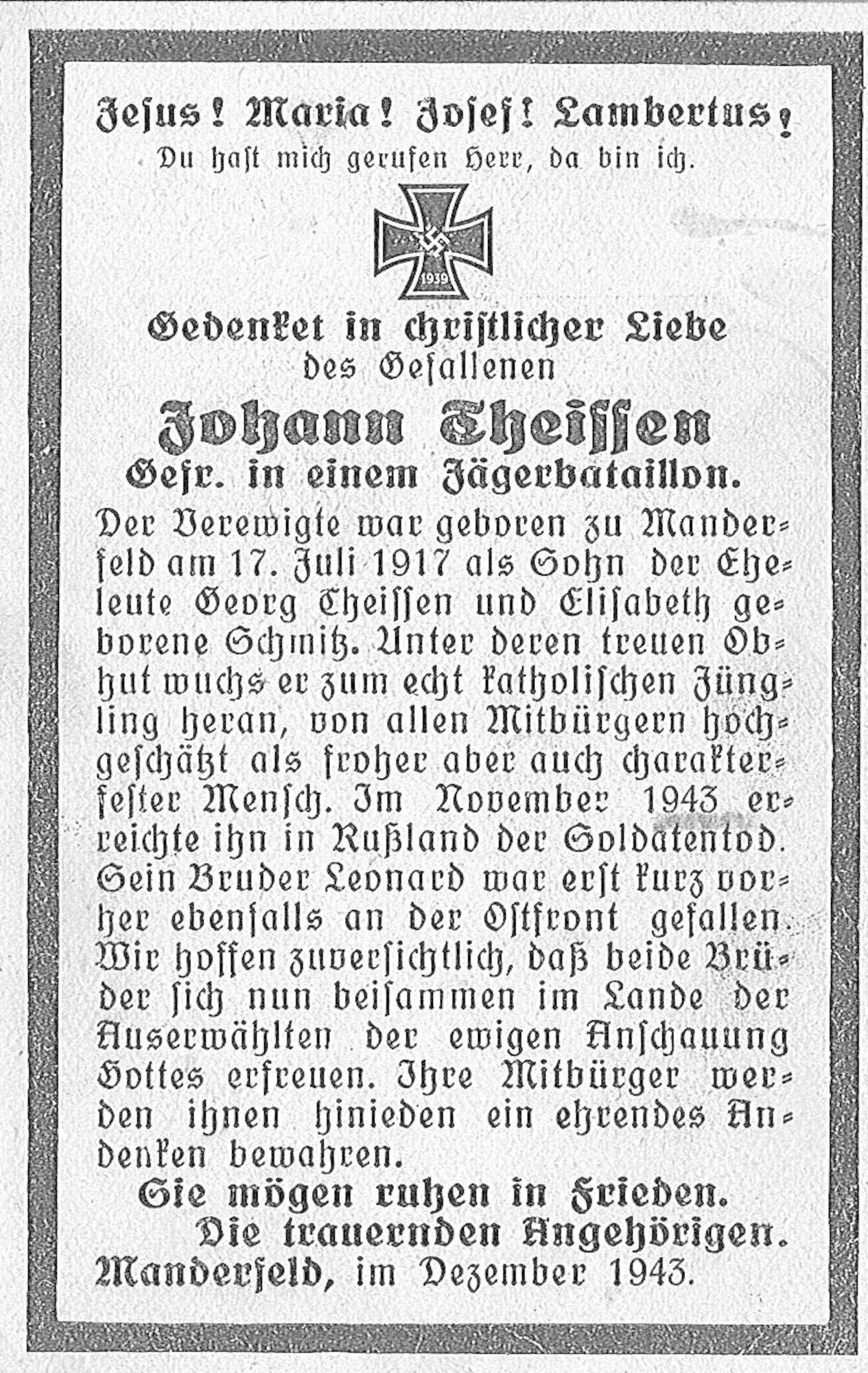 Johann Theissen