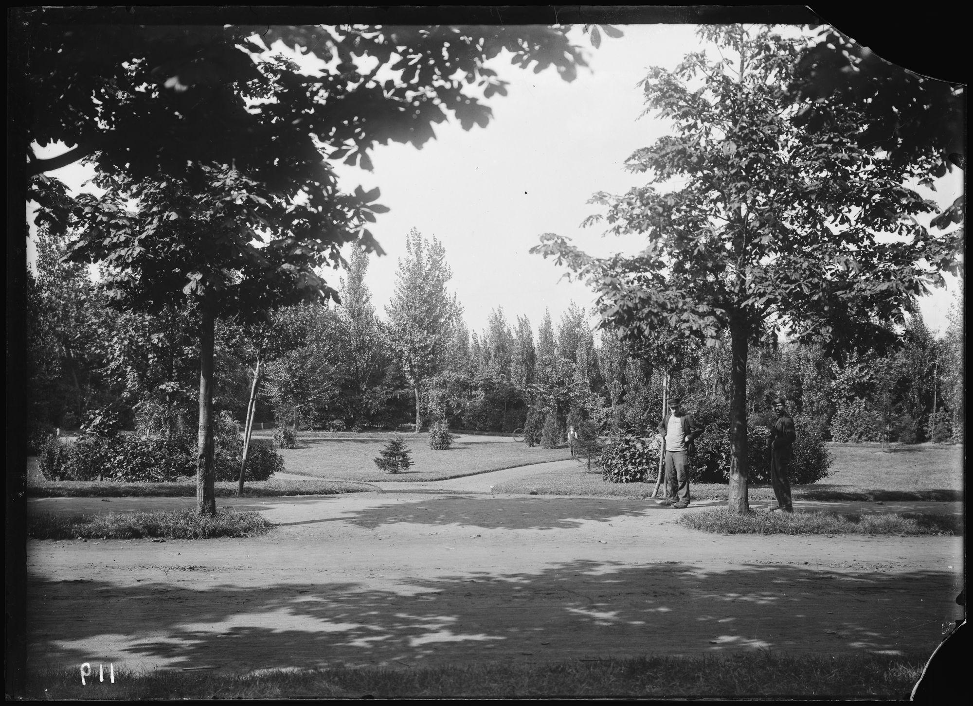 Volkspark begin twintigste eeuw
