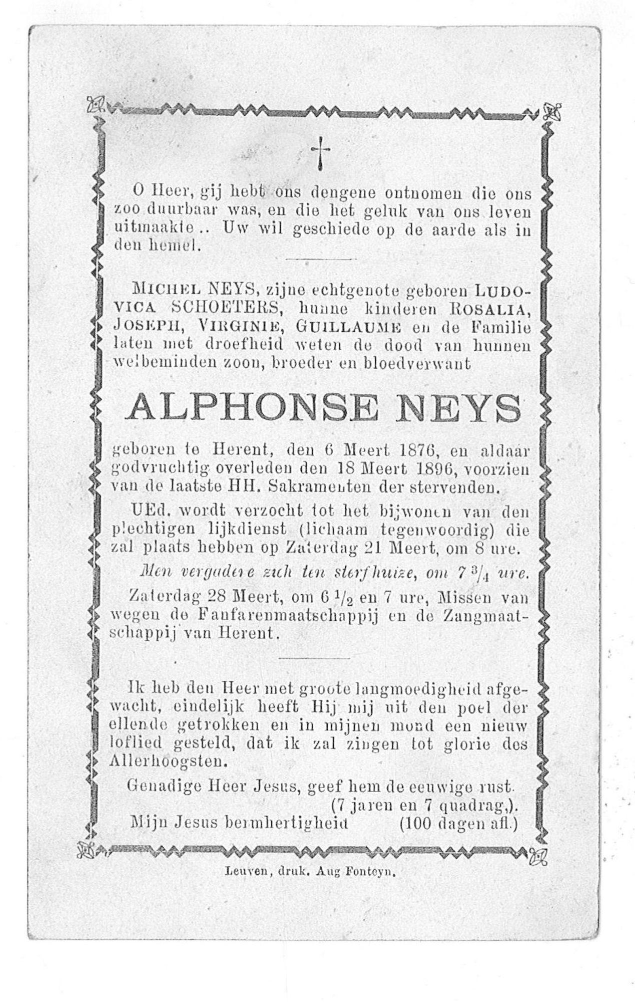 Alphonse Neys