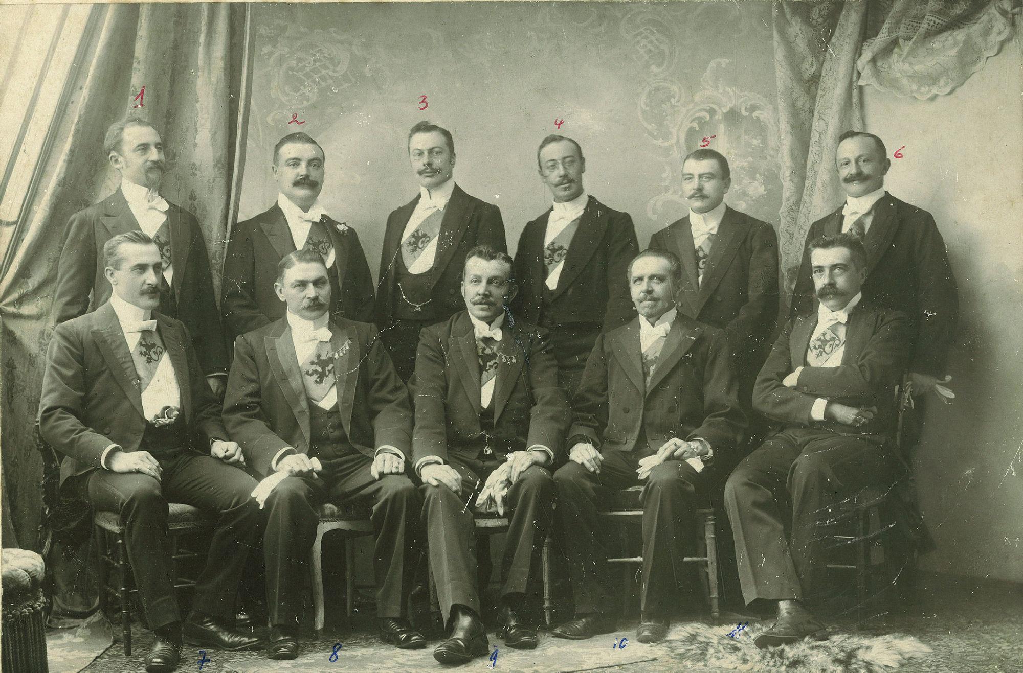 Inrichtingscomité Nationale Groeningefeesten, historische stoet