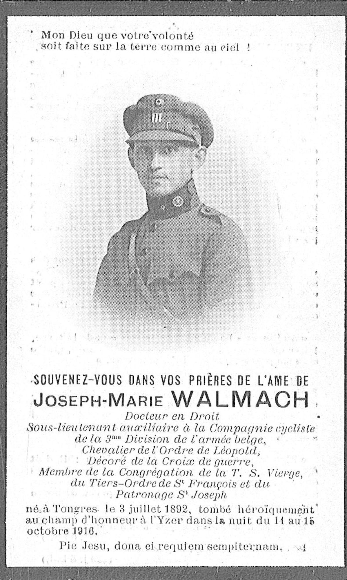 Joseph-Marie Walmach