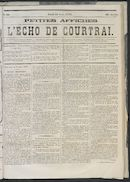 L'echo De Courtrai 1873-08-14