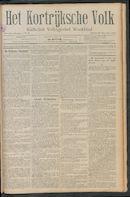 Het Kortrijksche Volk 1911-11-26 p1