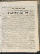 L'echo De Courtrai 1864-04-08