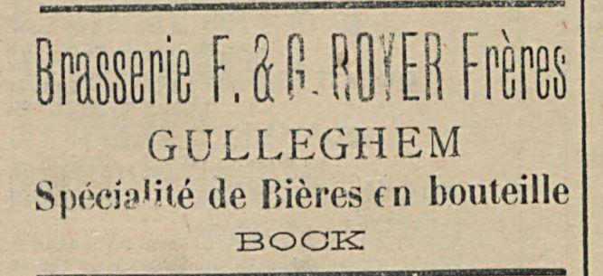 Brasserie F. & G. ROYER Freres