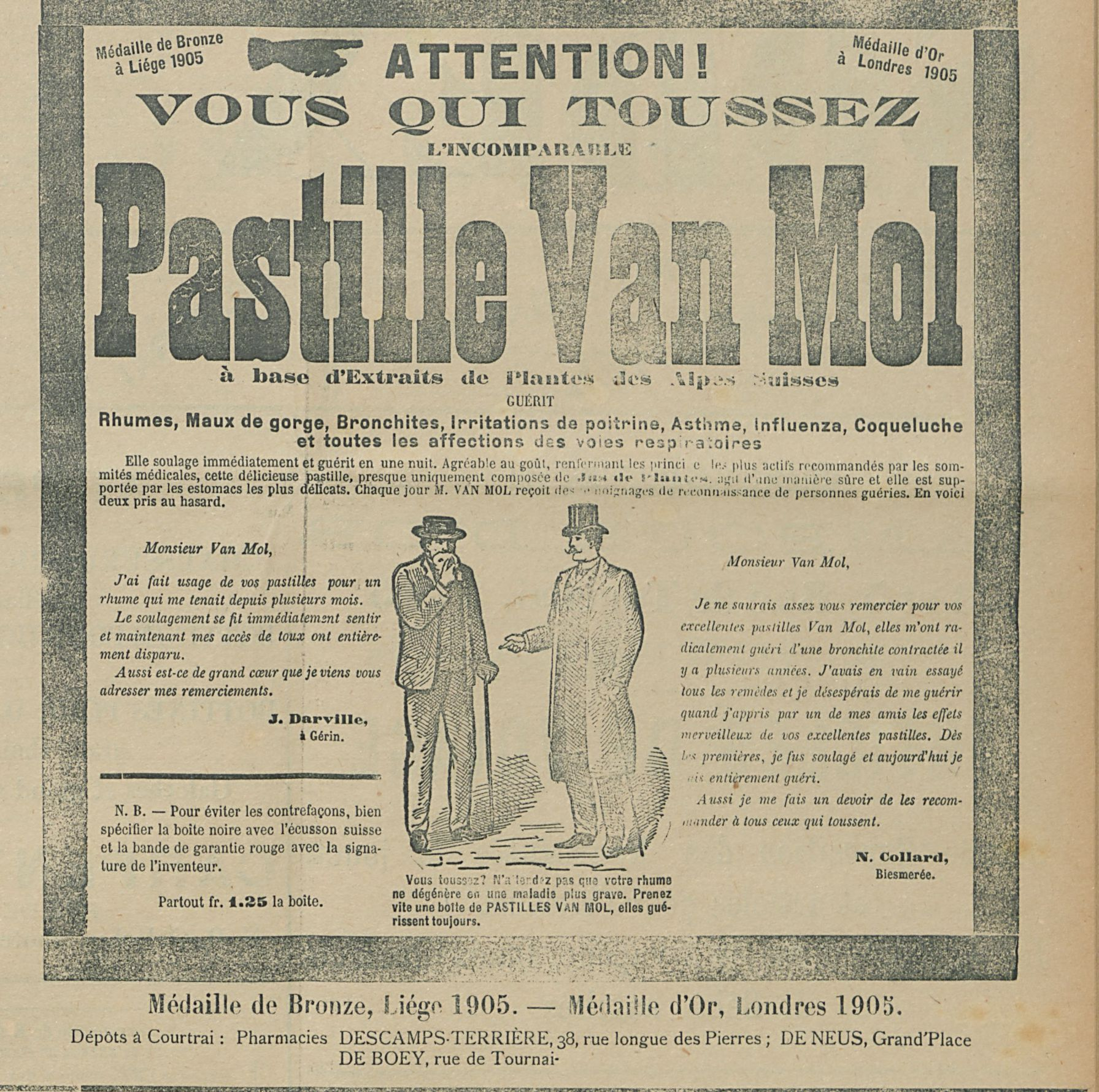 Pastille Van Mol