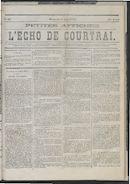 L'echo De Courtrai 1875-06-06 p1