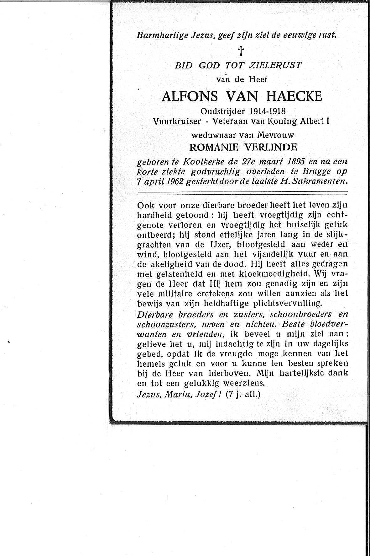 Van Haecke Alfons