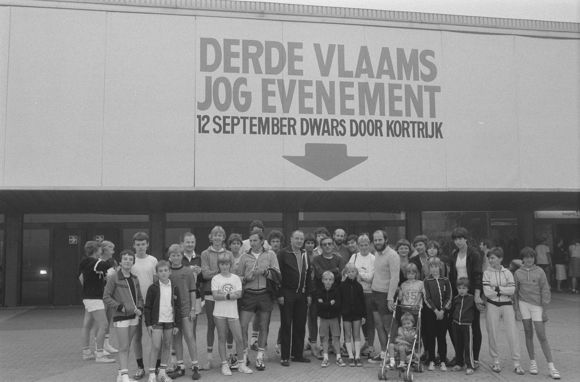 Derde Vlaams jogging evennement