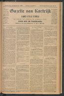 Gazette Van Kortrijk 1896-09-24