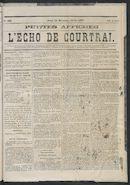 L'echo De Courtrai 1873-12-25