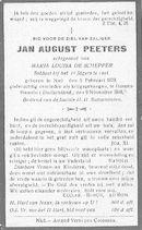 Peeters Jan August