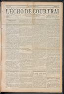 L'echo De Courtrai 1910-03-20 p1