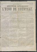 L'echo De Courtrai 1875-07-11