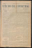 L'echo De Courtrai 1910-12-25