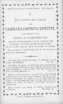 Carolus-Ludovicus Dewitte