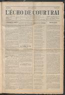 L'echo De Courtrai 1914-04-02