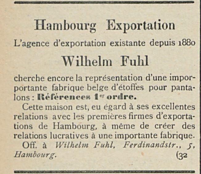 Hambourg Exportation