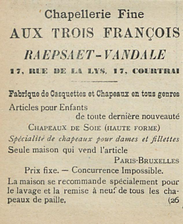 AUX TROIS FRANCOIS