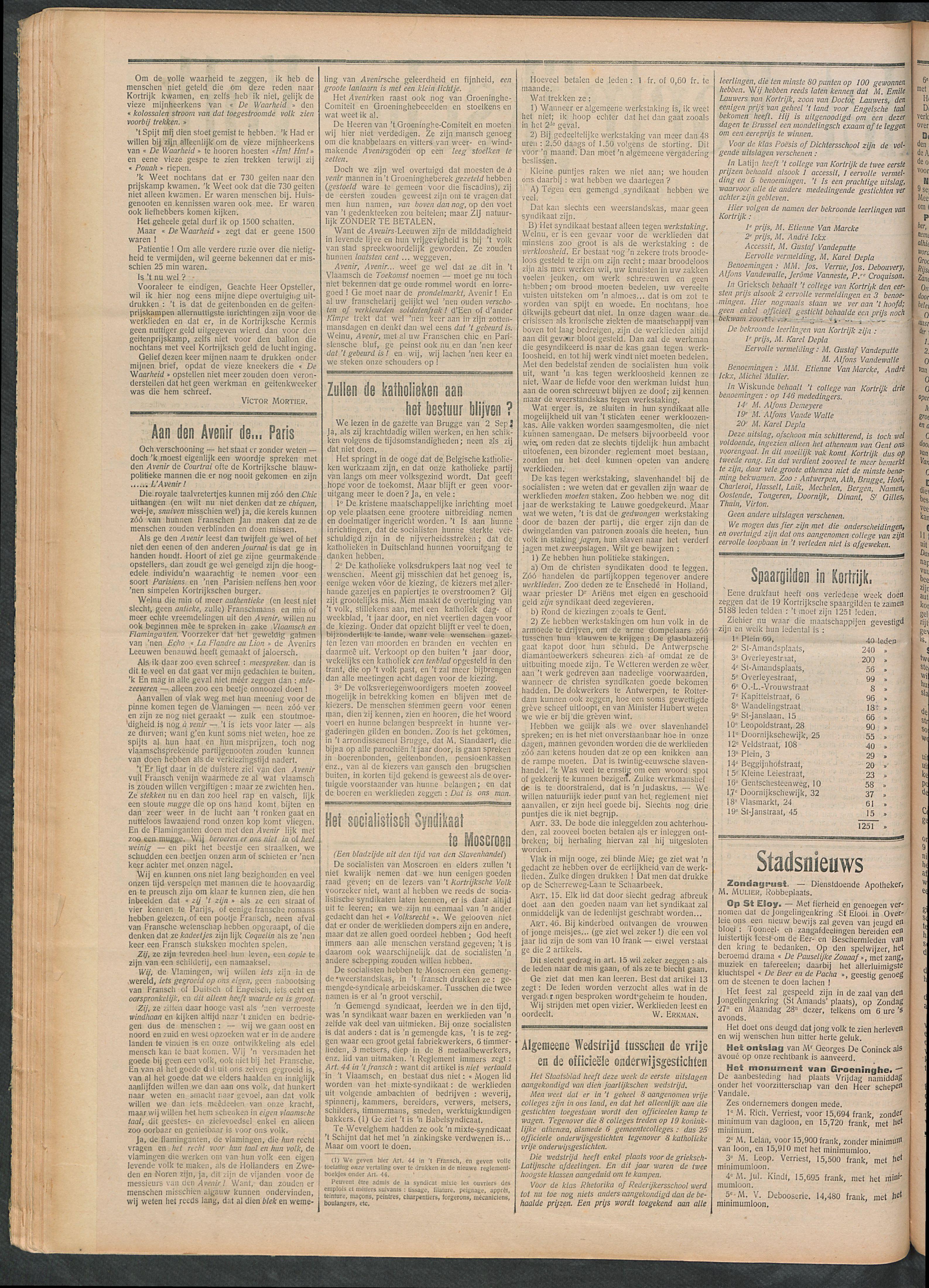 Het Kortrijksche Volk 1908-09-06 p2