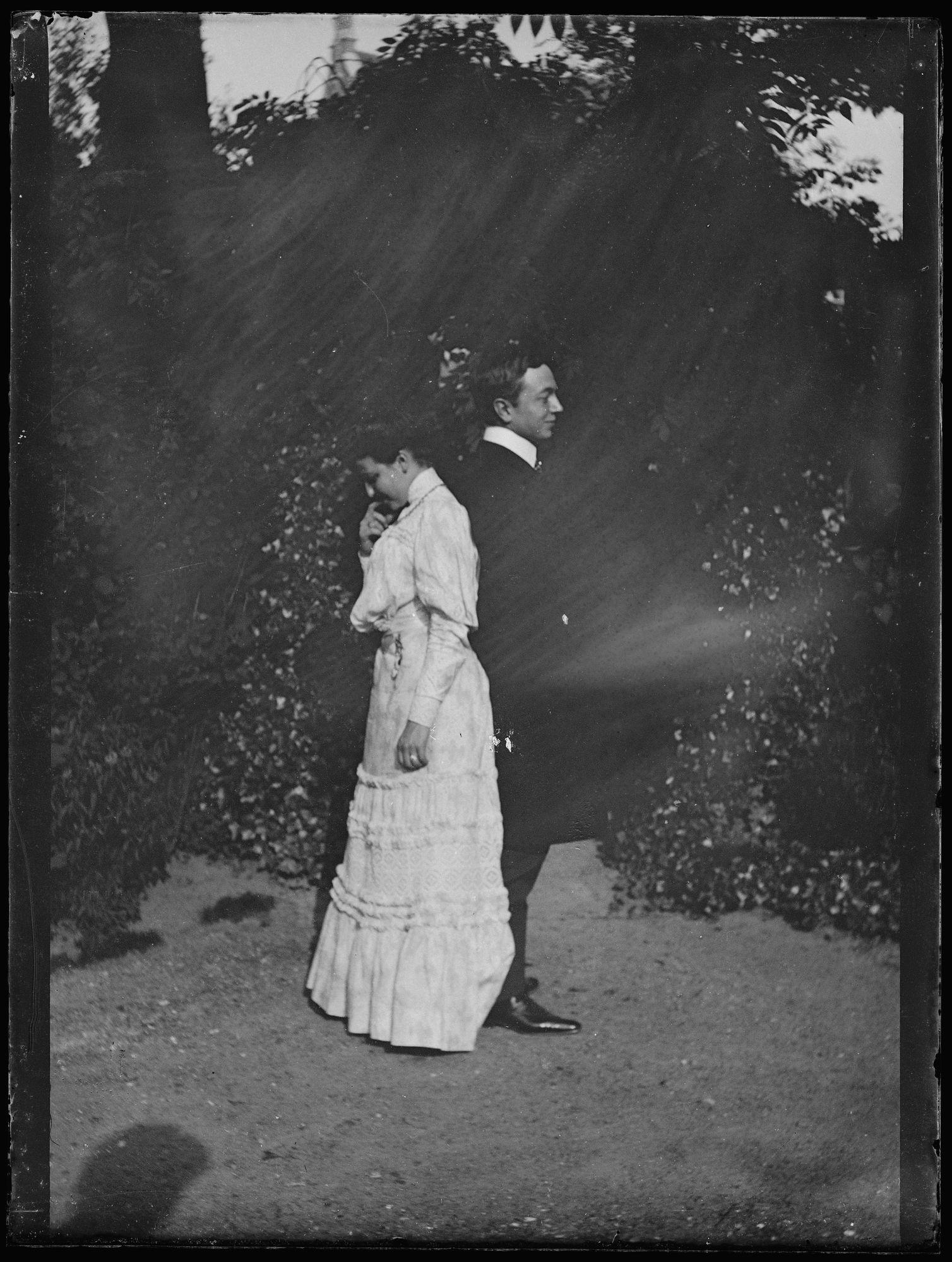 Portret van man en vrouw