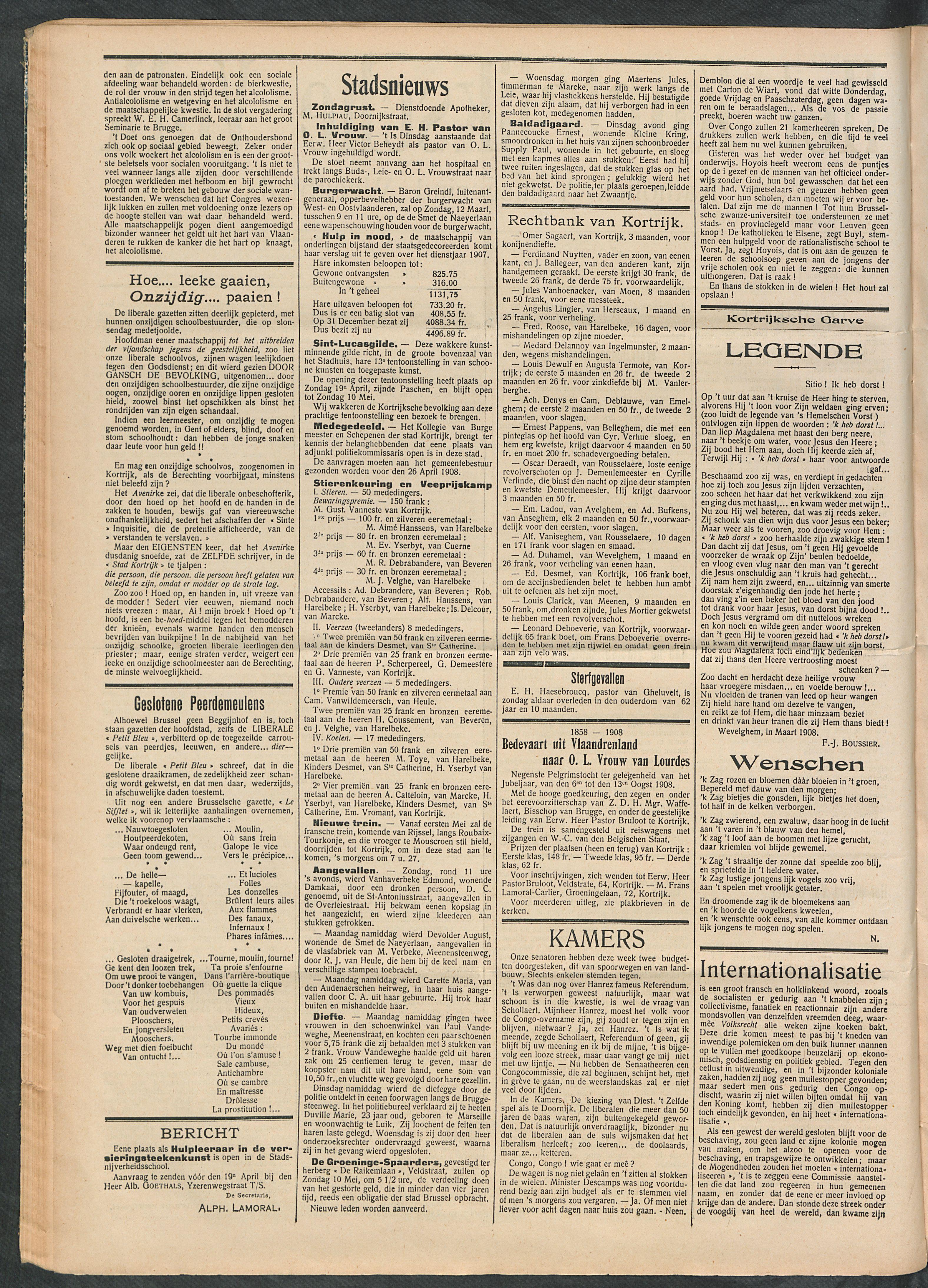 Het Kortrijksche Volk 1908-04-12 p2