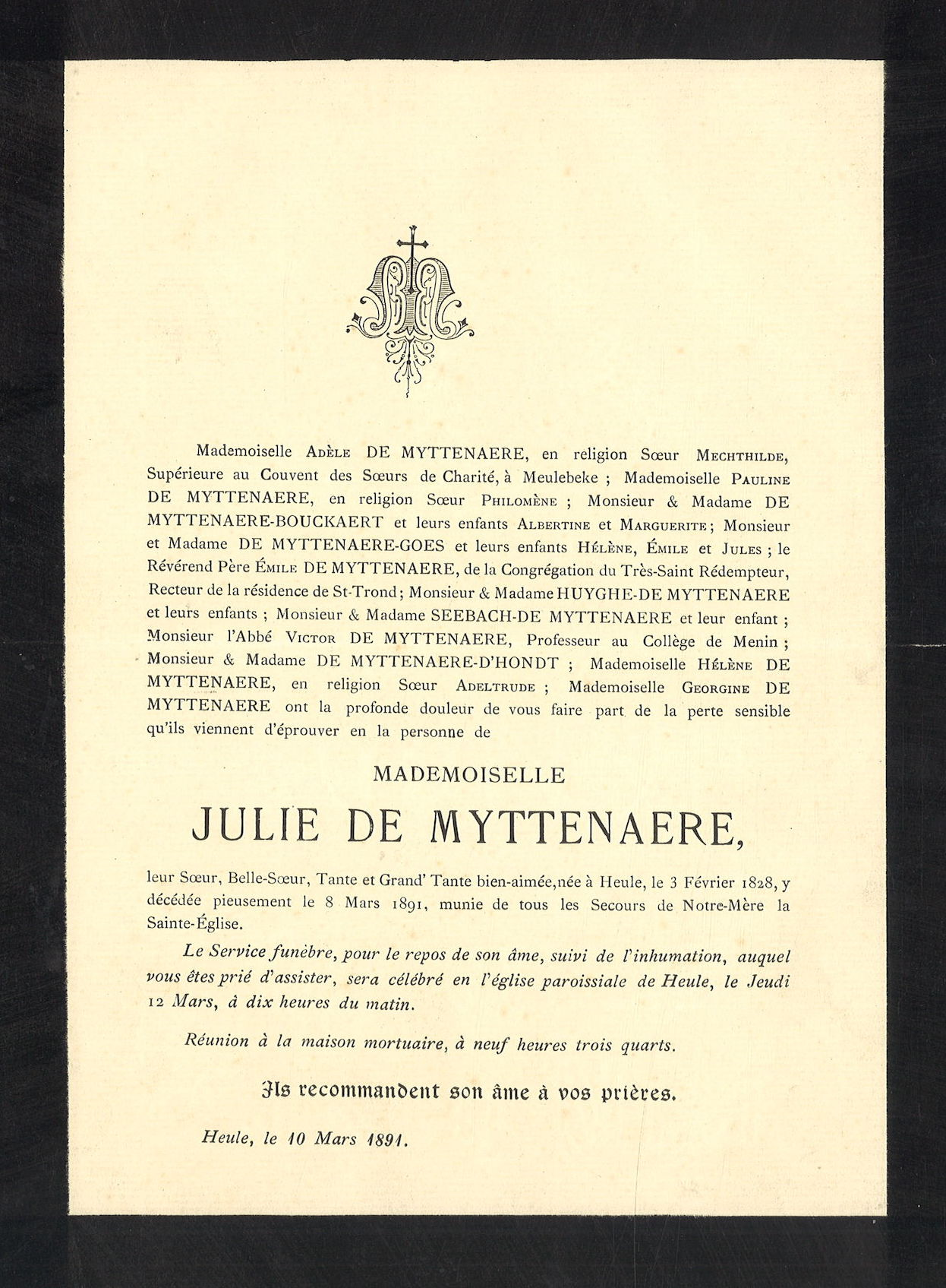 Julie De Myttenaere