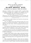 Alida-Maria Rys