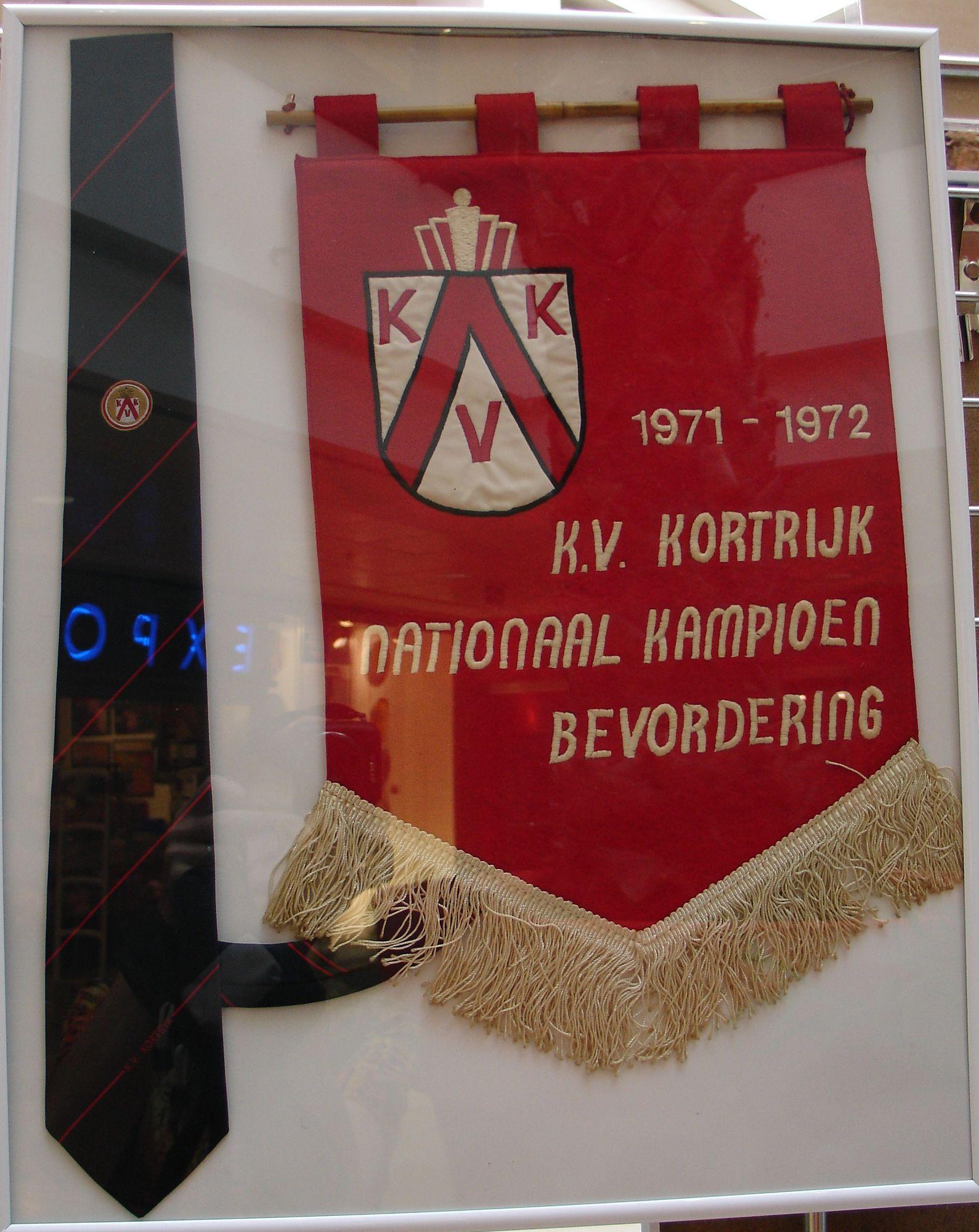 Vlag van KV Kortrijk