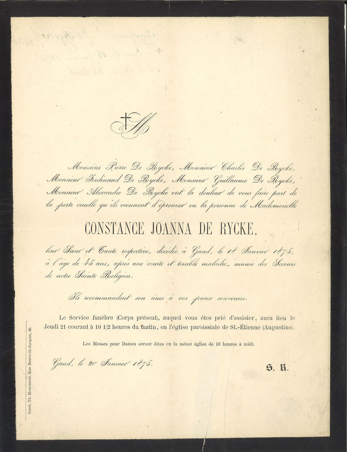 Constance Joanna De Rycke